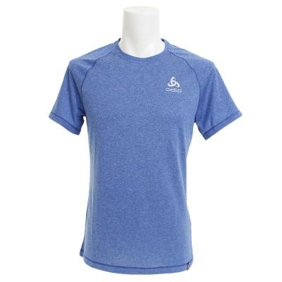 ODLOウェアTシャツ 半袖 BL TOP Crew neck AION Plain 350272 energy blue melange ブルー