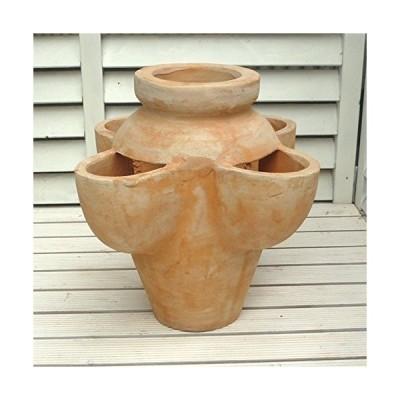 ストロベリーポット アルト NC1030 テラコッタ トールタイプ 32cm 素焼き鉢 陶器鉢 イチゴの栽培やハーブの寄せ植えに最適な植木鉢