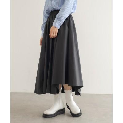 アシメヘムラインスカート