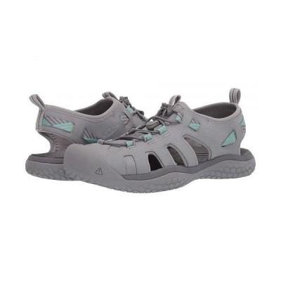 Keen キーン レディース 女性用 シューズ 靴 サンダル Solr Sandal - Light Gray/Ocean Wave