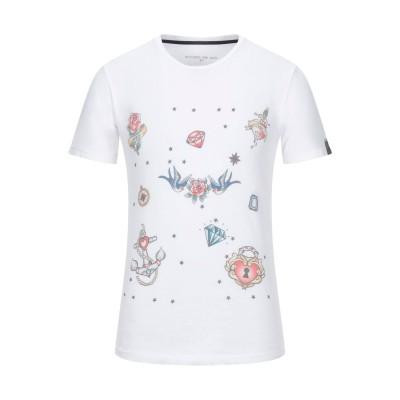 EN AVANCE T シャツ ホワイト S コットン 100% T シャツ