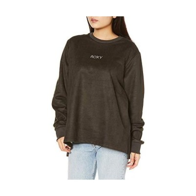 ロキシー レディース、ロンT、長袖Tシャツ RLT204064 ABSORPTION レディース BBK 日本 L (日本サイズL相当)