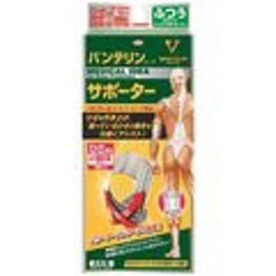 (Mサイズ 白)バンテリンサポーターひざ専用しっかり加圧タイプホワイト M