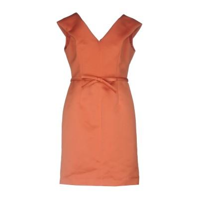 ポール カ PAULE KA ミニワンピース&ドレス 赤茶色 42 ポリエステル 100% ミニワンピース&ドレス
