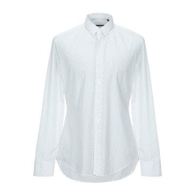 XACUS シャツ ホワイト 42 コットン 100% シャツ