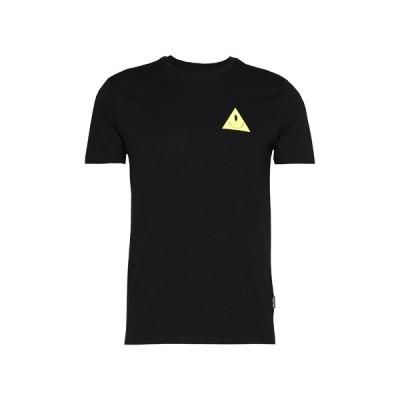 ユアターン Tシャツ メンズ トップス UNISEX EYE TEE - Print T-shirt - black