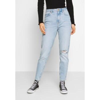 ピーシーズ レディース デニムパンツ ボトムス PCLEAH MOM - Relaxed fit jeans - light blue denim light blue denim