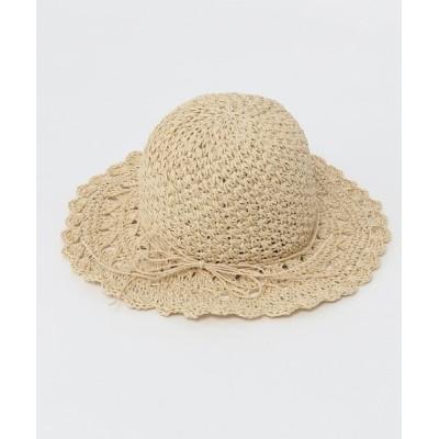 Heather / フリルペーパーハット 932609 WOMEN 帽子 > ハット