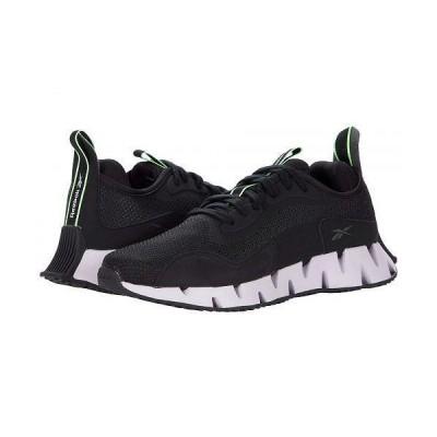 Reebok リーボック レディース 女性用 シューズ 靴 スニーカー 運動靴 Zig Dynamica - Core Black/Luminous Lilac/Neon Mint
