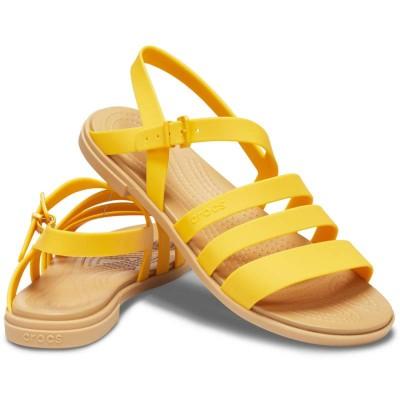 [クロックス公式] サンダル クロックス トゥルム サンダル ウィメン レディース、ウィメンズ、女性用 イエロー/黄色 21cm,22cm,23cm,24cm,25cm Women's Crocs Tulum Sandal