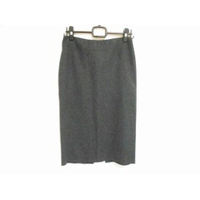 アールエルラルフローレン RL Ralph Lauren ロングスカート サイズ11 M レディース 美品 - ダークグレー【中古】20201127