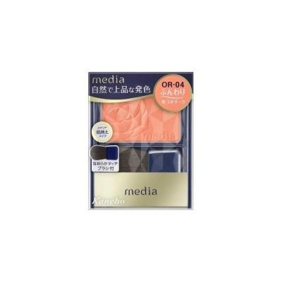 カネボウコスメット media(メディア)ブライトアップチークスNOR04 MDBCNO04