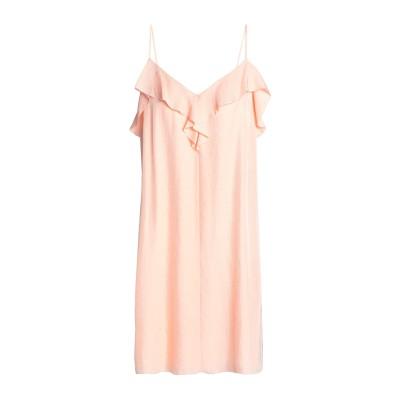 ラグアンドボーン RAG & BONE ミニワンピース&ドレス あんず色 4 トリアセテート 100% ミニワンピース&ドレス