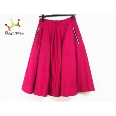 ドゥロワー Drawer ロングスカート サイズ36 S レディース 美品 - ピンク プリーツ  値下げ 20210211