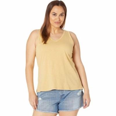 メイドウェル Madewell レディース タンクトップ 大きいサイズ Vネック トップス Plus Size Whisper Cotton V-Neck Tank Autumn Gold