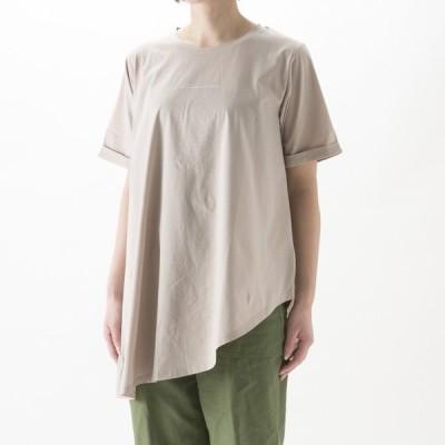 エルドアンジュ Aile de ange アシメドレープロゴTシャツ ADA6-0005Mギフトラッピング無料