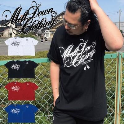 MELTDOWN(メルトダウン) Tシャツ SCRIPT S/S TEE(MD-SS01) ストリート系 B系 大きいサイズ