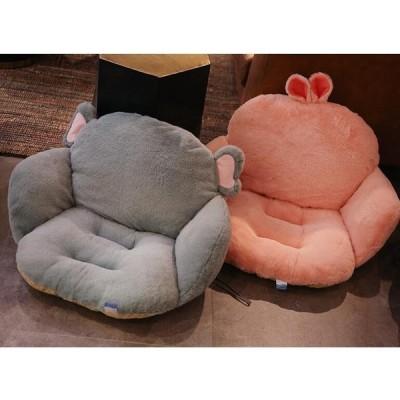 クッション おしゃれ チェアパッド 座布団 オフィス 腰痛 腰枕 運転 椅子用 寝具 ふかふか ギフト プレゼント 贈り物 動物 デザイン かわいい