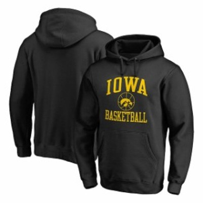 Fanatics Branded ファナティクス ブランド スポーツ用品  Fanatics Branded Iowa Hawkeyes Black In Bounds Pullover