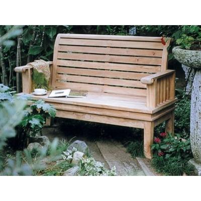 スネイルベンチ W1400×H930×D60 ガーデンチェア ベンチ 木製 家具 椅子 イス テラス 庭 バルコニー diy 通販