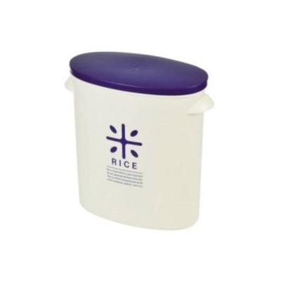 パール金属 RICE お米袋のままストック 5kg用 [ネイビー] HB-2166