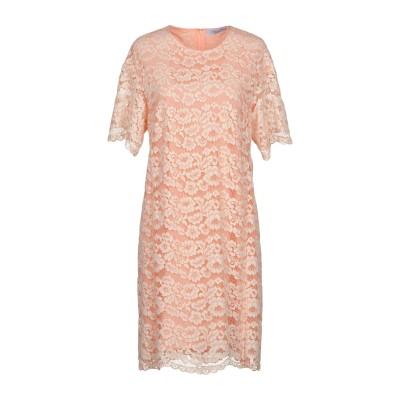 ブルマリン BLUMARINE ミニワンピース&ドレス サーモンピンク 48 ナイロン 60% / コットン 40% ミニワンピース&ドレス