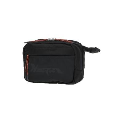 HERON PRESTON バックパック&ヒップバッグ ブラック ナイロン 100% / ポリエステル バックパック&ヒップバッグ
