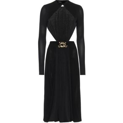 ドド バー オア Dodo Bar Or レディース パーティードレス ミドル丈 ワンピース・ドレス crepe-jersey midi dress Black