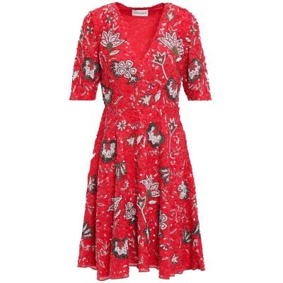 ANTIK BATIK ミニワンピース&ドレス レッド 38 コットン 100% ミニワンピース&ドレス