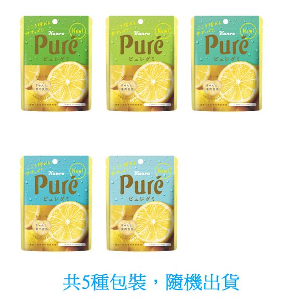 日本甘樂鮮果實軟糖-檸檬