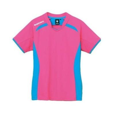 デサント 半袖ライトゲームシャツ(ウィメンズ) Pピンク×Pブルー DVB-5124W-PPK <2020CON>