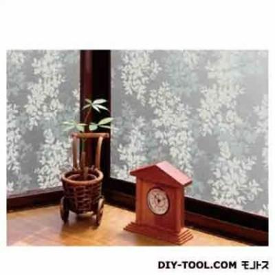明和グラビア 空気が抜けやすい窓飾りシート ホワイト 46cm丈×90cm巻 GDP-4631
