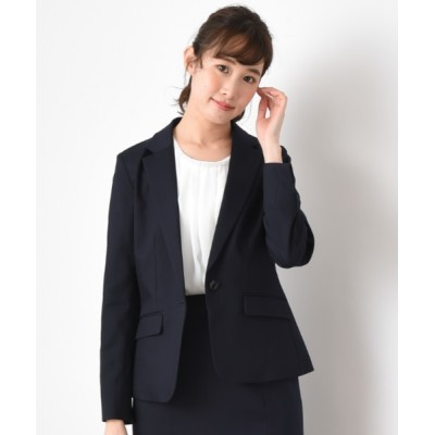INTERPLANET/actuel / 【セットアップ対応商品】3FUNCTIONテーラードジャケット WOMEN ジャケット/アウター > テーラードジャケット
