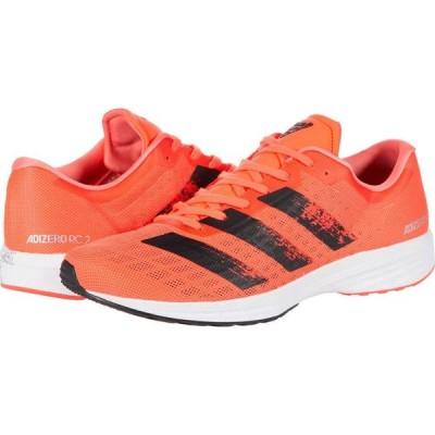 アディダス adidas メンズ ランニング・ウォーキング シューズ・靴 Adizero RC 2 Signal Coral/Core Black/Footwear White
