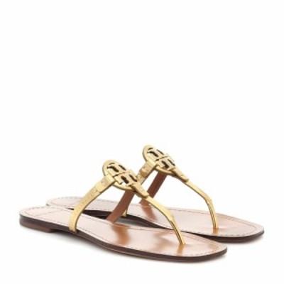 トリー バーチ Tory Burch レディース サンダル・ミュール シューズ・靴 mini miller leather sandals Gold