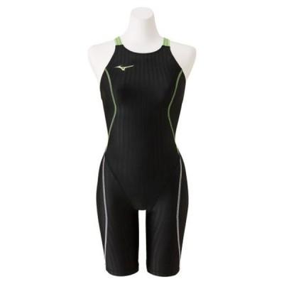 競泳用ハーフスーツ(レースオープンバック)(レディース) MIZUNO ミズノ スイム 競泳水着 STREAM ACE レースオープンバック (N2MG0224)