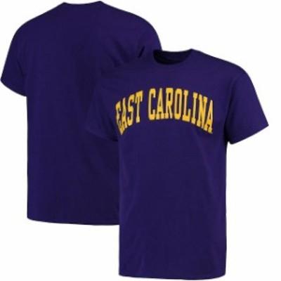 Fanatics Branded ファナティクス ブランド スポーツ用品  East Carolina Pirates Purple Basic Arch T-Shirt