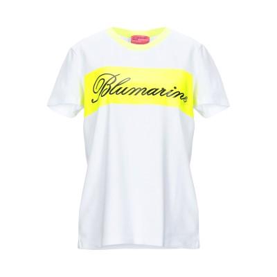 ブルマリン BLUMARINE T シャツ イエロー 44 コットン 90% / ポリウレタン 10% T シャツ