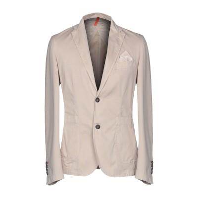 LIU •JO MAN テーラードジャケット サンド 44 コットン 97% / ポリウレタン 3% テーラードジャケット