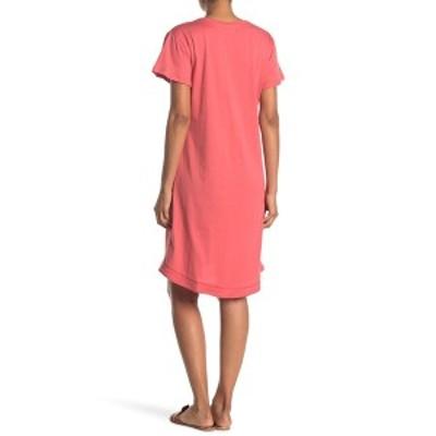 スティッチドロップ レディース ワンピース トップス V-Neck T-Shirt Dress SOAP NUT