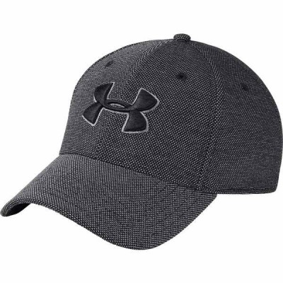 アンダーアーマー 帽子 アクセサリー メンズ Under Armour Men's Heathered Blitzing Hat Black/Graphite
