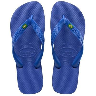 ハワイアナス メンズ サンダル シューズ Men's Brazil Logo Flip Flop Sandals