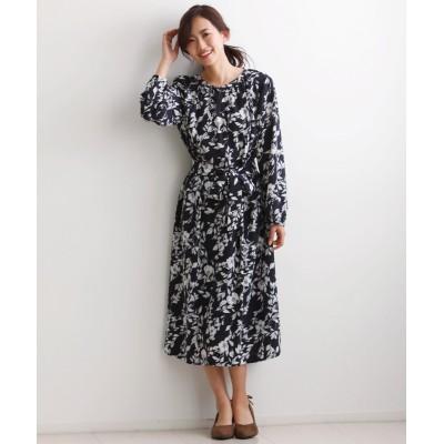 【大きいサイズ】 フラワープリントワンピース【ENNEA】 ワンピース, plus size dress