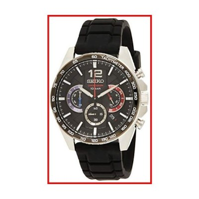 セイコー クォーツ腕時計 SSB347P1 ラバーメンズクォーツクロノグラフ