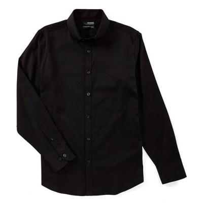 ムラノ メンズ シャツ トップス Wardrobe Essentials Slim-Fit Solid Twill Long-Sleeve Woven Shirt