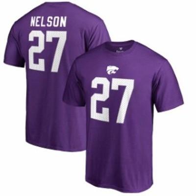 Fanatics Branded ファナティクス ブランド スポーツ用品  Fanatics Branded Jordy Nelson Kansas State Wildcats Purple College Legend