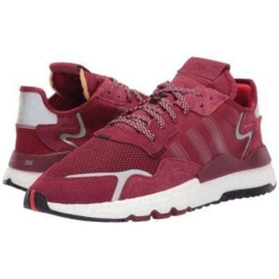 adidas Originals アディダス メンズ 男性用 シューズ 靴 スニーカー 運動靴 Nite Jogger Collegiate Burgundy/Collegiate【送料無料】