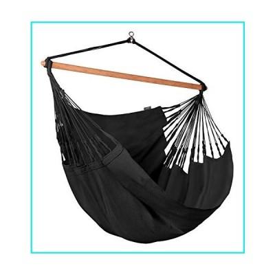 LA SIESTA Habana Onyx - Organic Cotton Kingsize Hammock Chair【並行輸入品】
