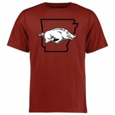 Fanatics Branded ファナティクス ブランド スポーツ用品  Arkansas Razorbacks Cardinal Tradition State T-Shirt
