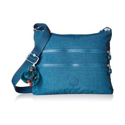 Kipling Alvar Crossbody Bag, Gleaming Green, One Size 並行輸入品